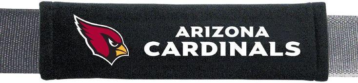NFL Arizona Cardinals Seat Belt Pad National Football League 2018 Pack Of 2, NEW #FremontDie #ArizonaCardinals