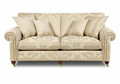 3 Seater Classic Back Sofa - Wellington III - Gorgeous Living Room Furniture from Furniture Village