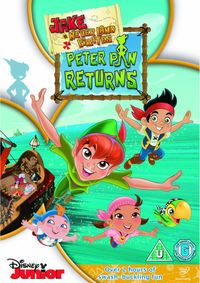 Jake and the Never Land Pirates: Peter Pan Returns is a TV special based on the Disney Junior animated television series Jake and the Never Land Pirates. It aired on February 13, 2012. Colin Ford as Jake, Madison Pettis as Izzy, Jonathan Morgan Heit as Cubby, David Arquette as Skully, Corey Burton as Captain Hook, Tiki Tree#1, Tiki Tree#3, Jeff Bennett as Mr. Smee, Bones, Loren Hoskins as Sharky, Adam Wylie as Peter Pan, Peter's Shadow, Dee Bradley Baker as Crocodile