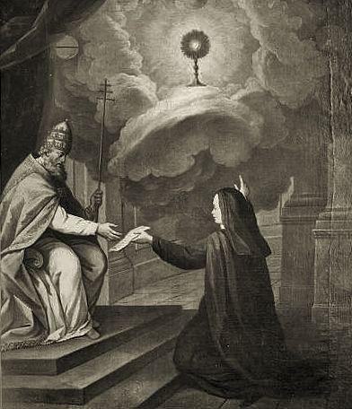 Sainte Julienne du Mont Cornillon & Urbain IV