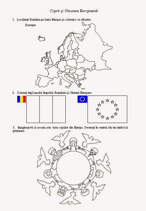 Materiale didactice de 10(zece): Copiii şi Uniunea Europeană