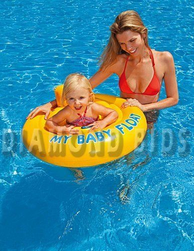 Baby-Swimming-Seat-Float-Swim-Pool-Sea-Summer-Inflatable-Ring-Floating-Infant