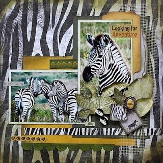 BoBunny Zoo zebra: Scrapbook Ideas, Zoology Layout, Weather Timetable, Animal Kingdom, Bobunni Zoology, Zoos Scrapbook, Disney Scrapbook, Scrapbook Layout, Wet Weather