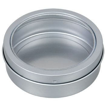 Bulk Jot Magnetic Round Metal Containers 3 75 In At