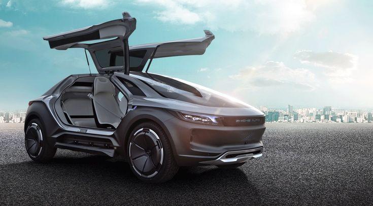 Zhiche Auto представила «умный» электрокроссовер – китайский «автомобиль будущего»