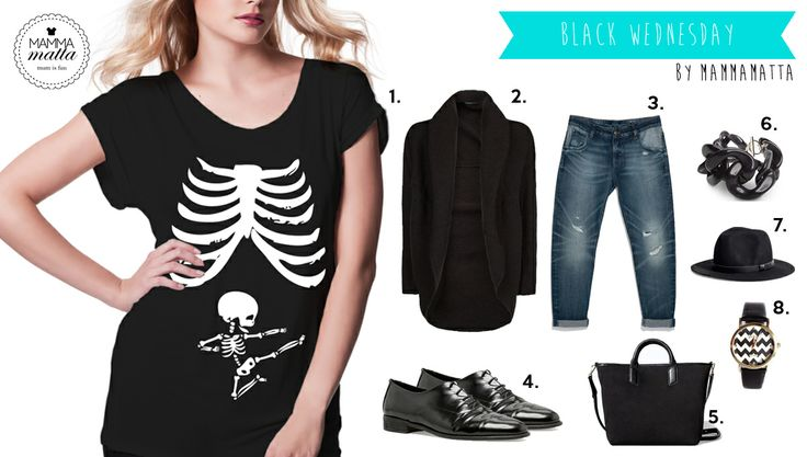 Look Mammamatta total black