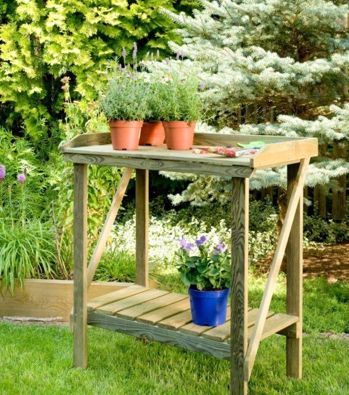 #stolik # drewniany #doogrodu #pomocnik #wogrodzie #dosiania #dopikowania #pomocnikogrodnika #stolikdrewniany