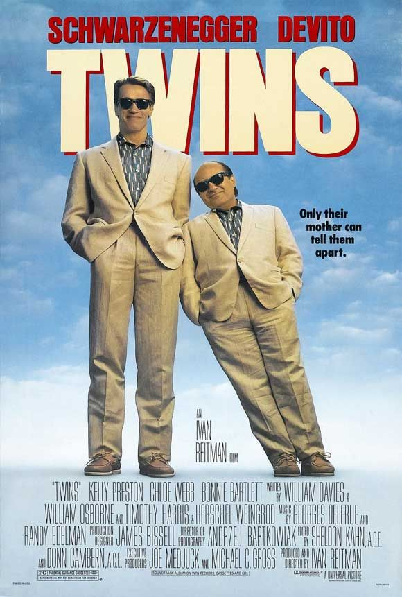 Twins ~ Arnold Schwarzenegger, Danny DeVito, Kelly Preston. -Watch Free Latest Movies Online on Moive365.to