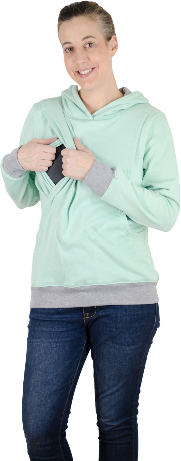 The Latched Mama Hoodie, for breastfeeding moms