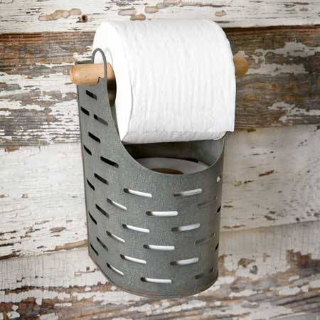 Bucket Toilet Paper Holder by UrbanilyStore on Etsy https://www.etsy.com/listing/531625972/bucket-toilet-paper-holder