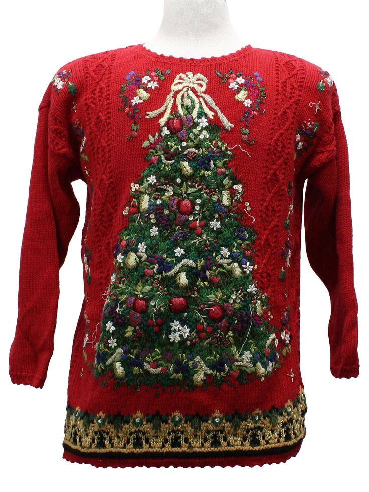 cotton christmas sweaters her sweater. Black Bedroom Furniture Sets. Home Design Ideas
