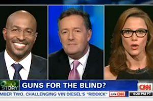 Piers Morgan Battles S.E. Cupp, Van Jones Over Guns for the Blind: 'You've Gone Stark Raving Mad!' - http://celeboftea.com/piers-morgan-battles-s-e-cupp-van-jones-over-guns-for-the-blind-youve-gone-stark-raving-mad/