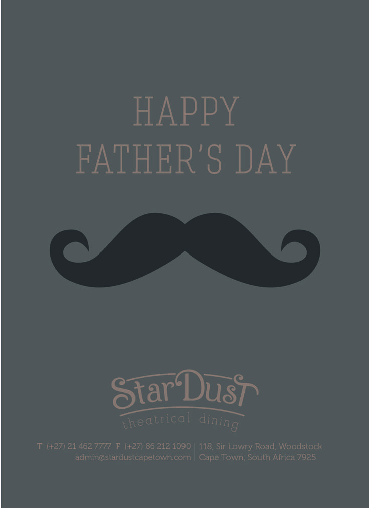 StarDust Theatrical Dining Father's Day 2015