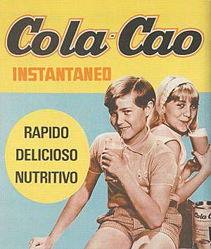 Cola cao vintage poster