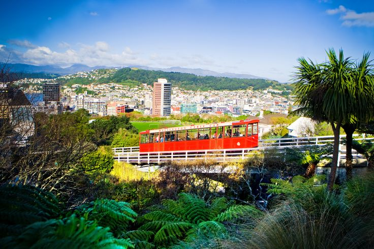 The Cable Car in #Wellington