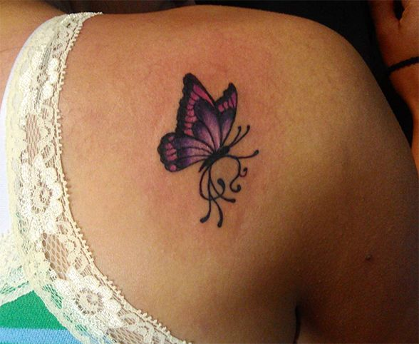 Estos son los tatuajes de mariposas más lindos que verás!