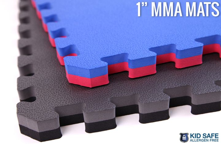 These large tiles are 100% allergen free and perfect for MMA, Martial Arts, Judo, Ju Jitsu, Playrooms, Basements and much much more.