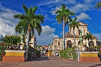 Главная улица Тринидада. Куба (Каталог номер: 14118)