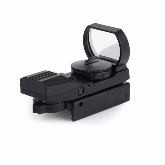 Red Dot Aiming Optic with 4 Reticle Settings and 11mm/20mm Rail System