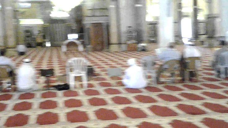 Inside Al Masjid Al Aqsa Mosque, Al Quds (Jerusalem), Palestine. 02.07.2012