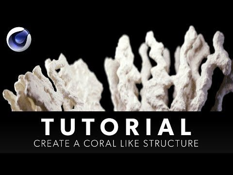 How to create and grow coral structures in Cinema 4D R20