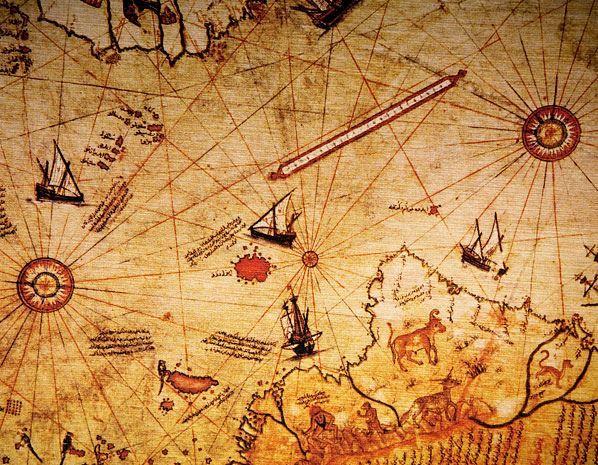 MISTERIO 8 - El mapa de Piris Reis - ¿Cómo es posible que hace cinco siglos ya existiera un mapa que mostrara a nuestra planeta con lujos de detalles? ¿Será posible que en este mapa aparezcan con claridad las costas de la Antártida, un espacio de tierra que en 1513 no había sido descubierto aún y cuyos contornos exactos solo se conocieron a partir de 1949?  Piri Reis fue un almirante y cartógrafo turco que elaboró un mapa de nuestros continentes con extrema precisión,
