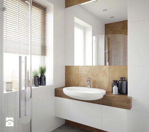 biała łazienka - zdjęcie od MIKOŁAJSKAstudio