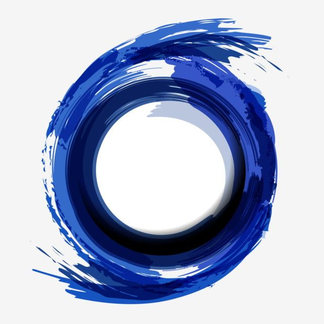 Blue Circle Artistic Abstract Brush Strokes Background Blue Clipart Background Abstract Background Png And Vector With Transparent Background For Free Downlo Paint Vector Dark Phone Wallpapers Abstract