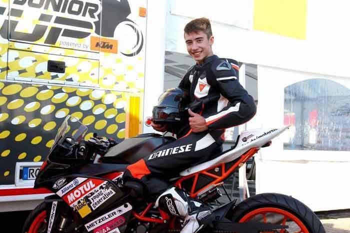 Πανελλήνιος πρωταθλητής ταχύτητας ο Κερκυραίος μοτοσυκλετιστής Βασίλης Κορωνάκης