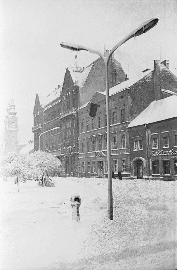 Soproni múlt - Tavaszi hóesés 1970-ben