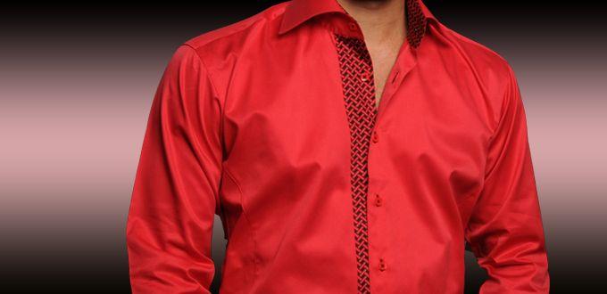 Les atouts d'une chemise rouge - e-magazine homme : mode ...