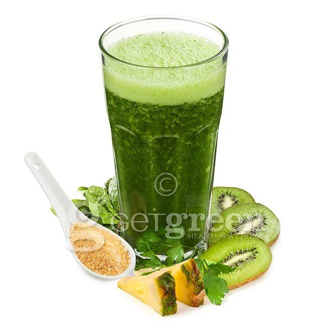 Bardzo Zielony to bardzo pyszne i niezwykle zielone cudo - duuuża dawka chlorofilu, kiwi, ananas - ach, trzeba spróbować!!