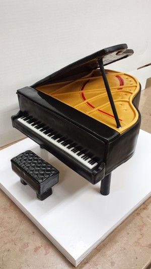 Piano Cake by Edward Cabral