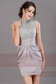 """Résultat de recherche d'images pour """"robe courte satin  bleu azur"""""""