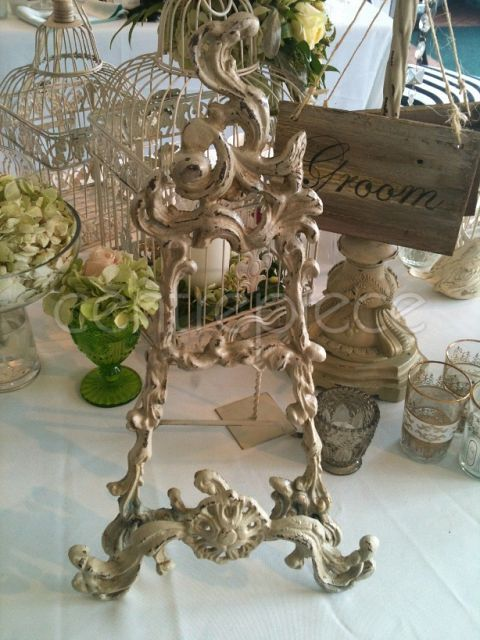 Table Easel French White
