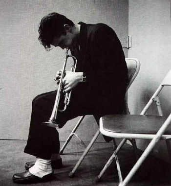 "Chet Baker: (December 23, 1929 – May 13, 1988) an American jazz trumpeter, flugelhornist & singer. In the 1950s, Baker earned much attention and critical praise, particularly for albums featuring his vocals, such as Chet Baker Sings. Jazz historian David Gelly described the promise of Baker's early career as seemingly representing ""James Dean, Sinatra, and Bix, rolled into one."" However, Baker was in & out of jail for much of his life, before enjoying a career resurgence in the late 70's…"