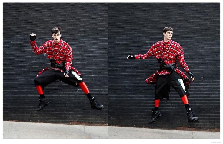 Corentin Renault Rocks Marc by Marc Jacobs Fall 2014 Motocross Fashions for Visual Tales image Corentin Renault Marc by Marc Jacobs Fall Winter 2014 Fashion Photo Shoot Visual Tales 005