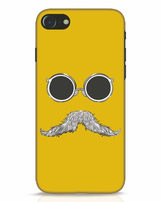big sale bc76d fbe3d Shady Moustache iPhone 7 Mobile Cover | IPhone 7 Cover Designs ...