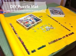 DIY Puzzle Keeper Mat