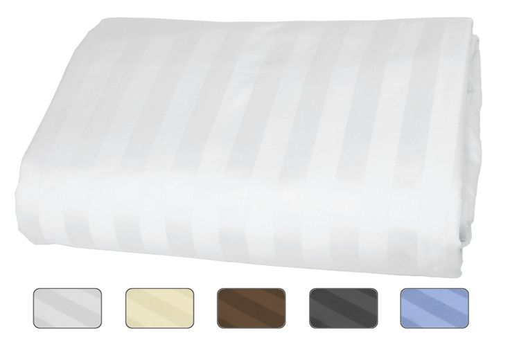Amazon.com - American Pillowcase - Queen Size Fitted Sheet Only - 100% Egyptian Cotton, 540 Thread Count With Wrinkle Guard (Color: White) -