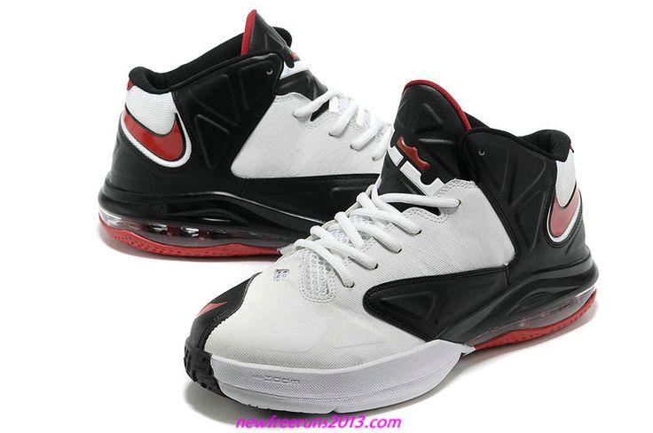 Nike Lebron 5 Ambassador Black White Action Red