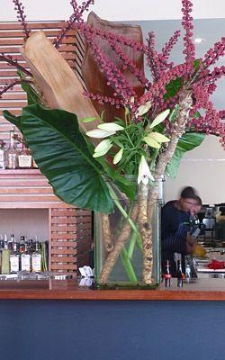 Grandiflora at Longrain Restaurant-my favourite florist in Sydney
