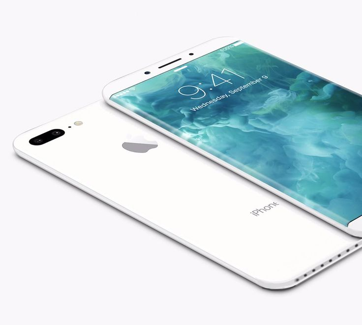 Concept image of the iPhone 8, with captioned as 'Innovation, innovation, innovation...'