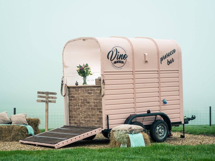 Meet the woman who converted a trailer into a prosecco-filled vino van