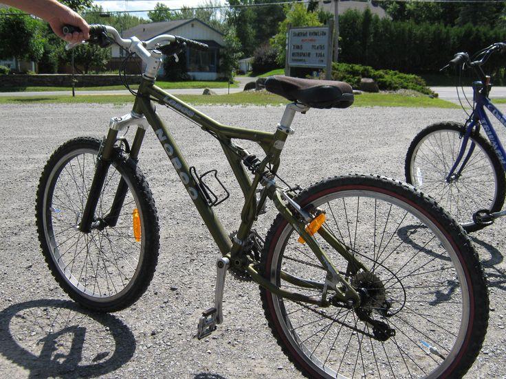 Refurbished NOROC Mountain bike.  Courtesy of Turkey Hill Sugarbush Ltd.