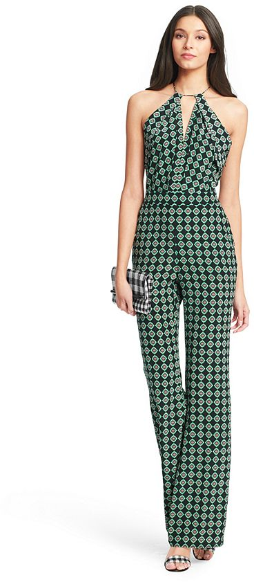 Shop for Ireland Open Back Silk Jumpsuit by Diane von Furstenberg at ShopStyle. Now for Sold Out.