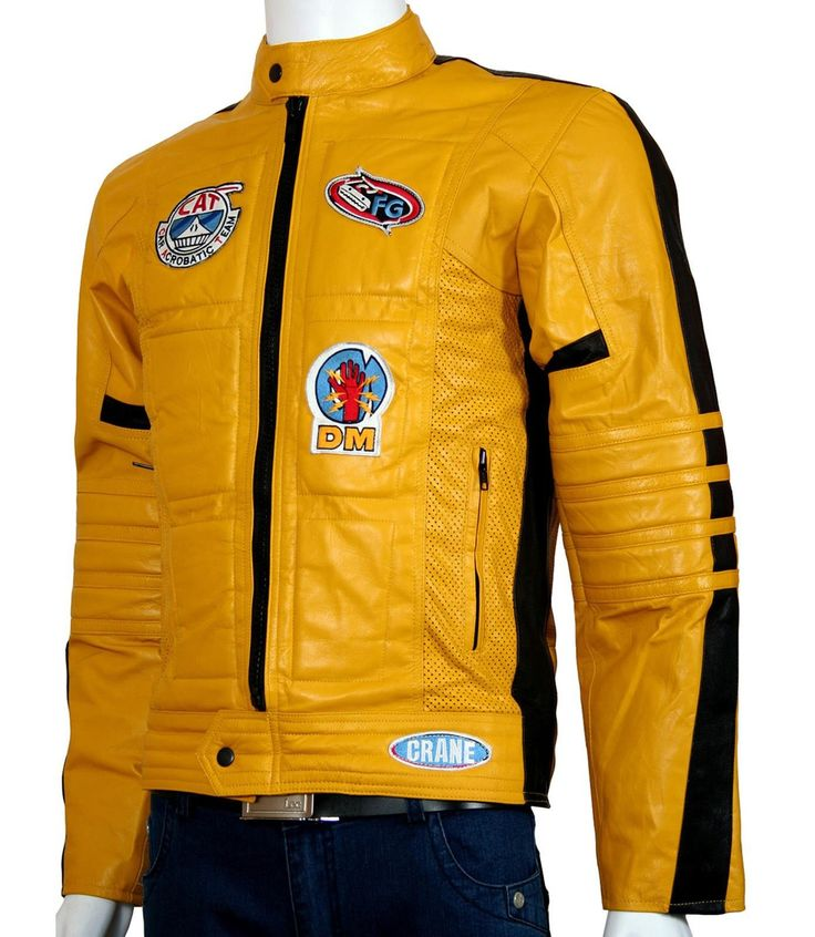 Kill Bill Motorcycle Jacket Men