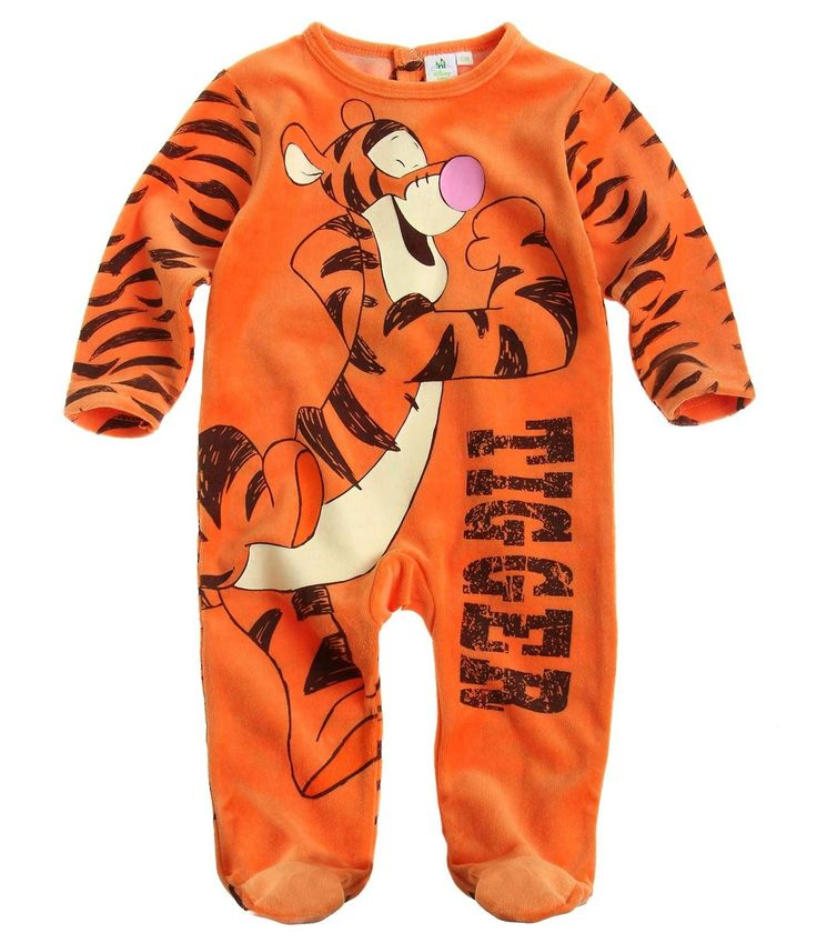 Disney Tigger Baby overall orange: Amazon.co.uk: Clothing