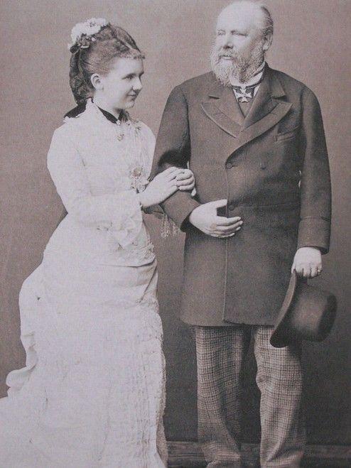Koning Willem III en Koningin Emma - 1879