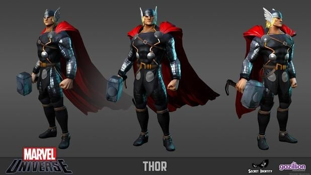 Marvel Heroes director talks PvP, in-game auction house, and Diablo: Games Thor, Videos Games, 3D Image, 3D Games, Design Masterpiece, Amazing 3D, Games Character Design, Marvel Thor, Marvel Heroes